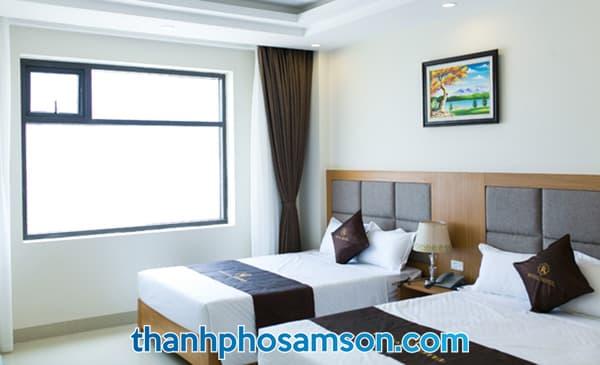 Phòng nghỉ có view biển
