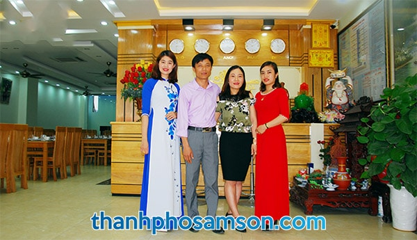 Đội ngũ quản lý khách sạn Đức Thắng Sầm Sơn