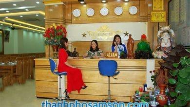 Quầy lễ tân khách sạn Đức Thắng Sầm Sơn