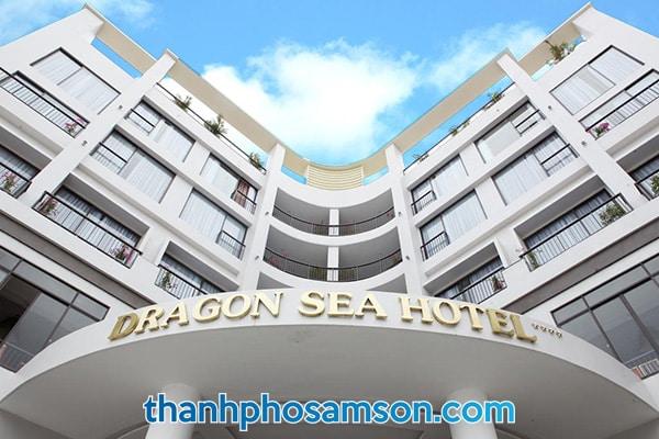 Mặt tiền khách sạn Dragon Sea