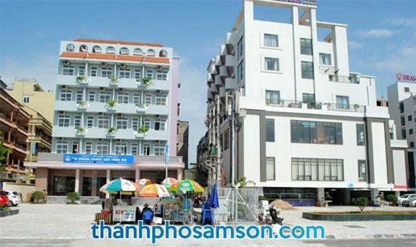 Mặt tiền khách sạn Sông Mã