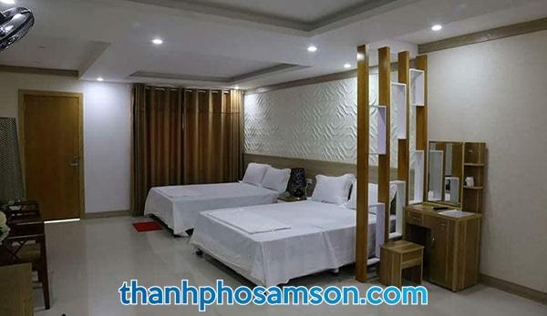 Phòng đôi tại khách sạn Phương Đông