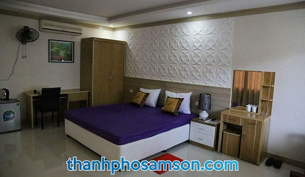 Phòng đơn tại khách sạn Phương Đông