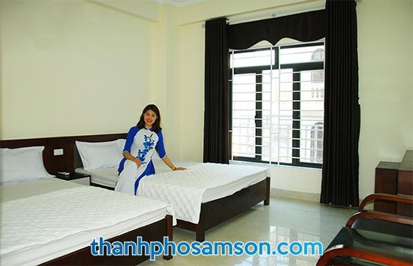 Phòng nghỉ khách sạn Đức Thắng Sầm Sơn