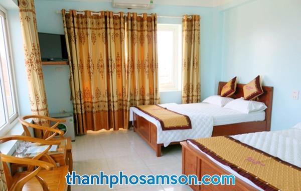 Bên trong phòng nghỉ khách sạn Minh Hạnh