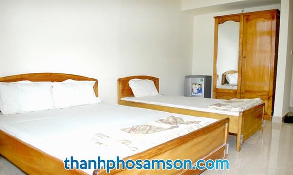 Phòng nghỉ khách sạn Sông Mã