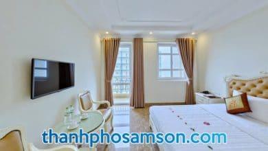 Bên trong phòng nghỉ khách sạn Việt Hưng