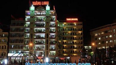Ảnh chụp khách sạn Thăng Long vào đêm