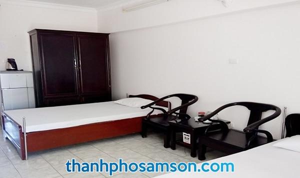 Trang thiết bị, nội thất trong phòng nghỉ