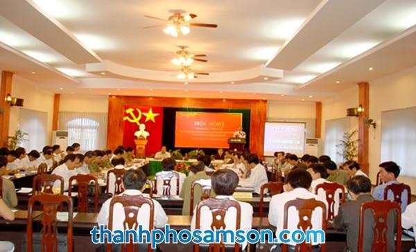 Phòng hội họp với 200 chỗ ngồi