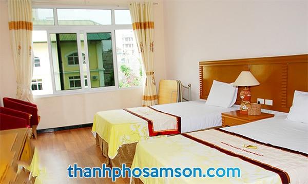 Phòng đơn với 2 giường ngủ