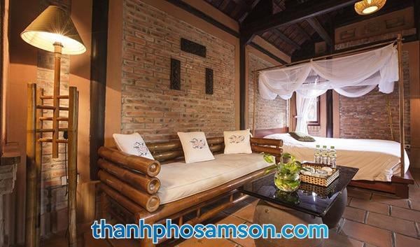 Phòng ngủ đơn với 1 giường ngủ rộng rãi