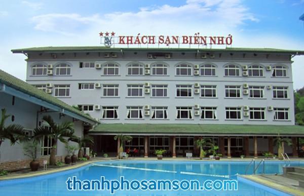 Toàn cảnh khách sạn Biển Nhớ Sầm Sơn