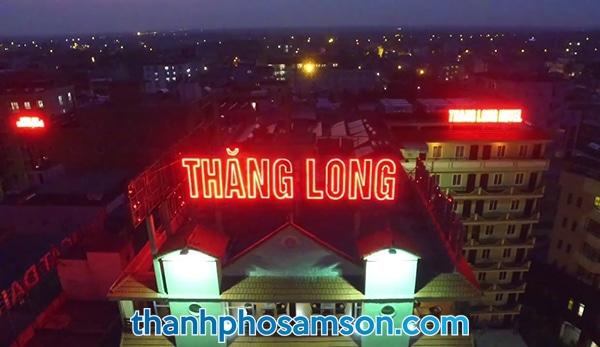 Hình ảnh chụp khách sạn Thăng Long từ trên cao
