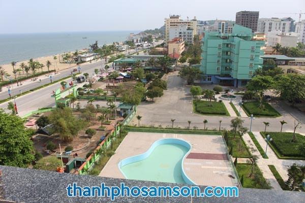 View biển từ phòng nghỉ