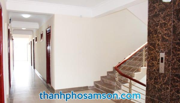 Hành lang tại Tân Trường Sơn Hotel