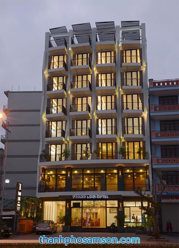 Hình ảnh chụp khách sạn về đêm