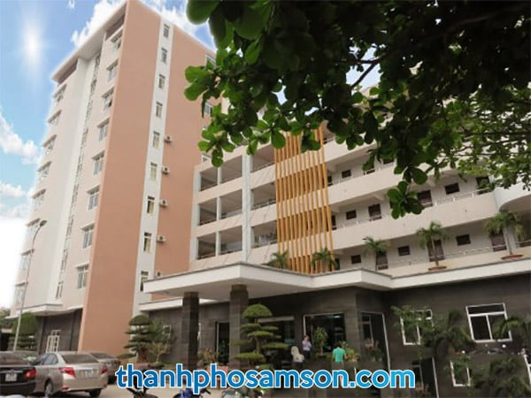 Mặt tiền Khách sạn Bộ Tài Chính Sầm Sơn