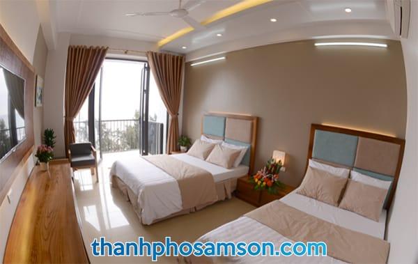 Phòng đôi tại khách sạn Thanh Long