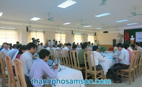 Khu vực phòng họp, hội nghị, hội thảo