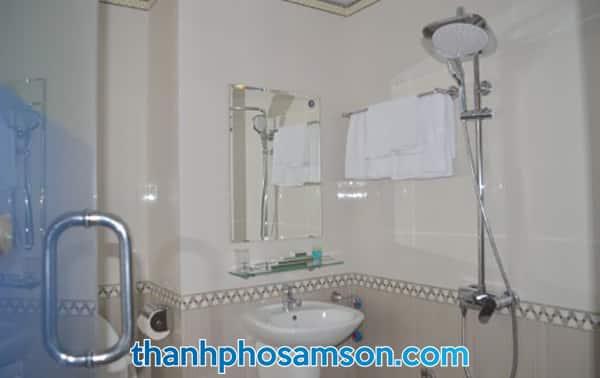 Phòng tắm trong các phòng nghỉ