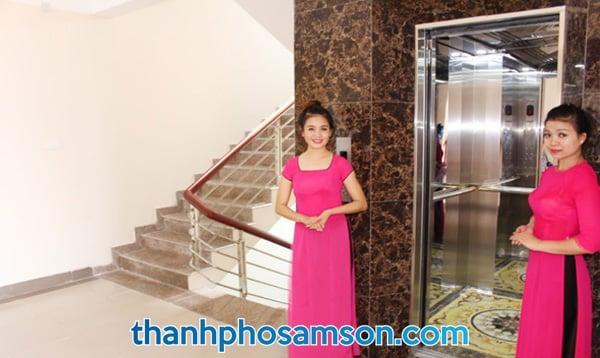 Thang máy tại khách sạn Tân Trường Sơn Sầm Sơn