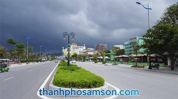 Toàn cảnh Khách sạn Bộ Xây Dựng Sầm Sơn Thanh Hoá