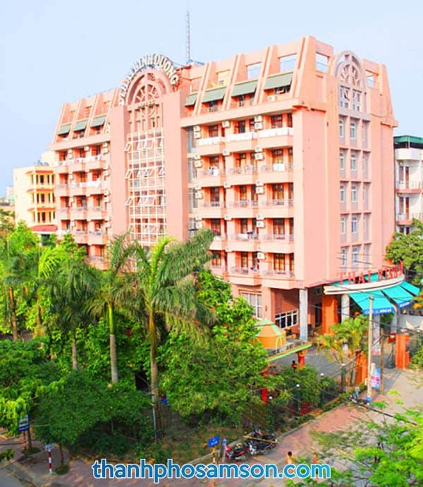 Toàn cảnh khách sạn nhìn từ trên cao