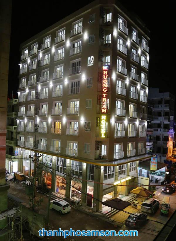 Toàn cảnh khách sạn Hương Trầm Sầm Sơn