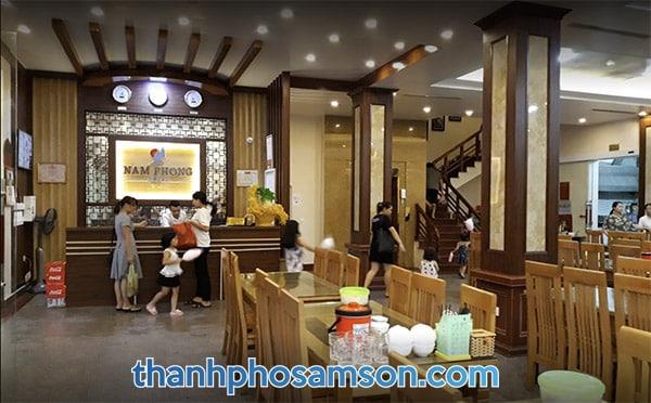 Khu vực lễ tân khách sạn