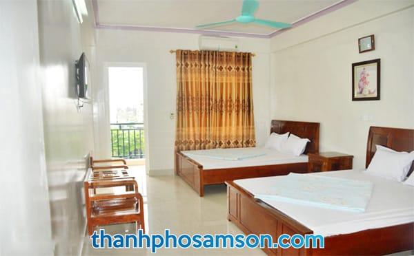 Phòng nghỉ khách sạn Nam Phong Sầm Sơn