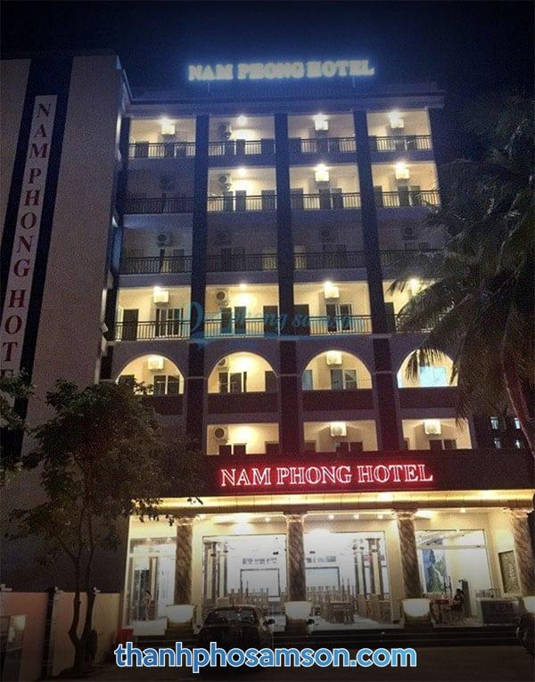 Toàn cảnh Khách sạn Nam Phong Sầm Sơn